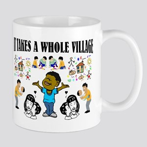 Childrearing Black children Mug