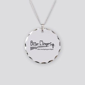 Bitter Clingers Necklace Circle Charm