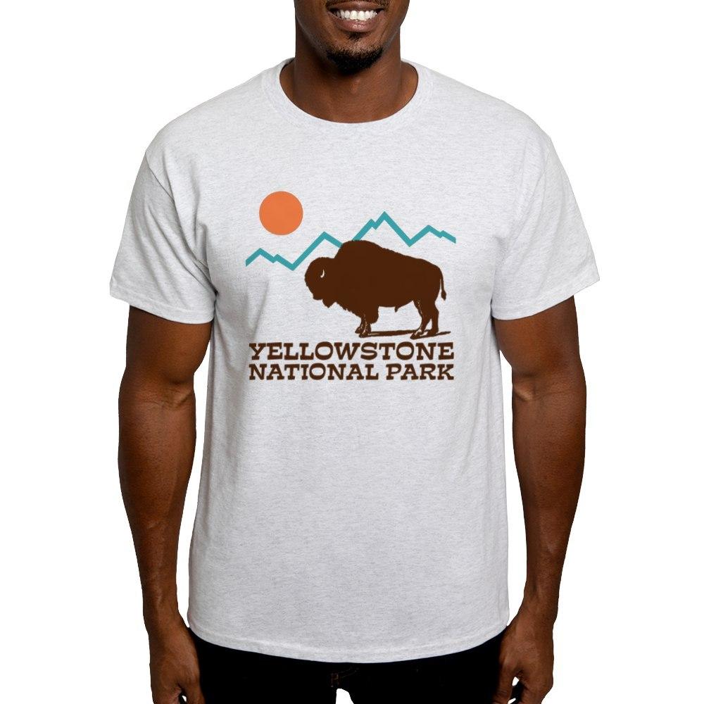 CafePress-Yellowstone-National-Park-Light-T-Shirt-Light-T-Shirt-572351422 thumbnail 5