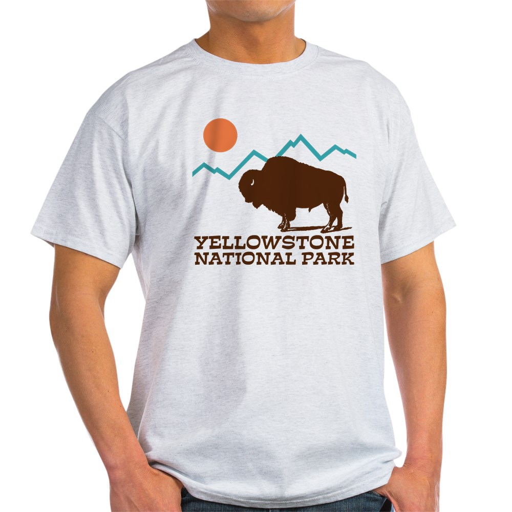 CafePress-Yellowstone-National-Park-Light-T-Shirt-Light-T-Shirt-572351422 thumbnail 7