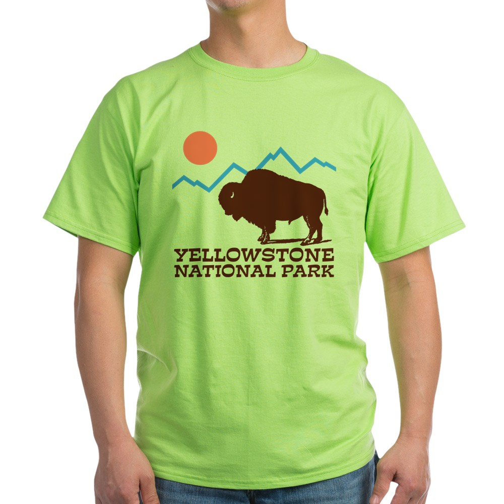 CafePress-Yellowstone-National-Park-Light-T-Shirt-Light-T-Shirt-572351422 thumbnail 17