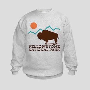 Yellowstone National Park Kids Sweatshirt