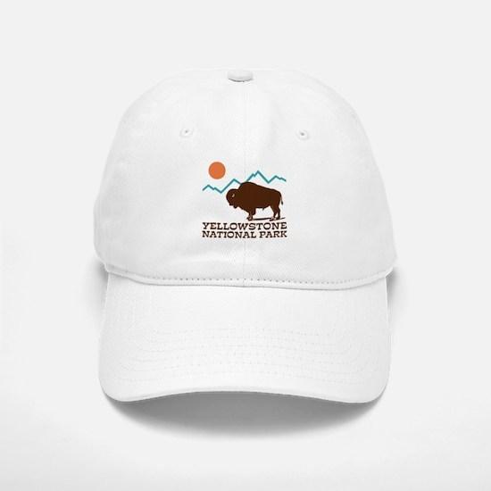 Yellowstone National Park Baseball Baseball Cap