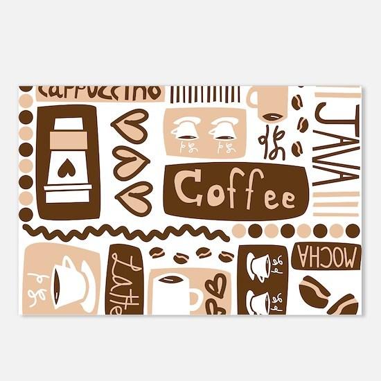 Java Java Java Postcards (Package of 8)