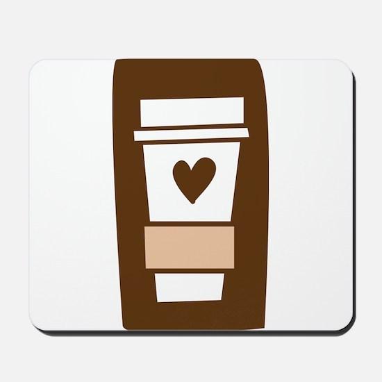 Latte Love Mousepad