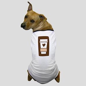 Latte Love Dog T-Shirt