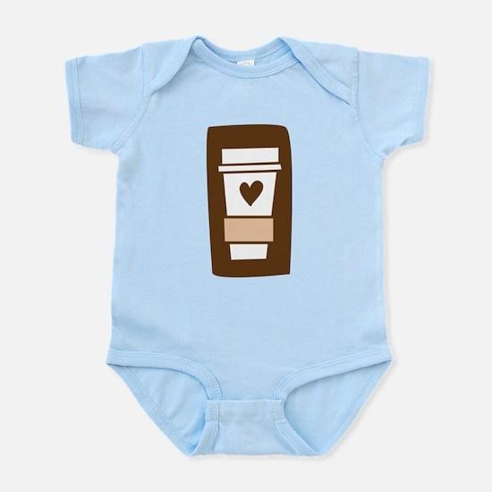 Latte Love Infant Bodysuit
