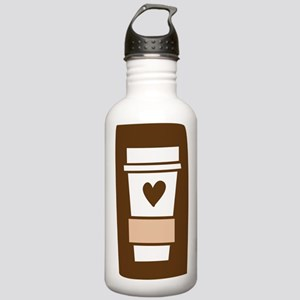 Latte Love Stainless Water Bottle 1.0L