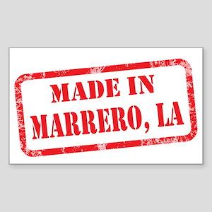 MADE IN MARRERO, LA Sticker (Rectangle)