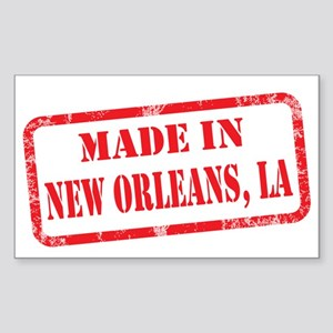 MADE IN NEW ORLEANS, LA Sticker (Rectangle)