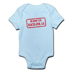 MADE IN RACELAND, LA Infant Bodysuit