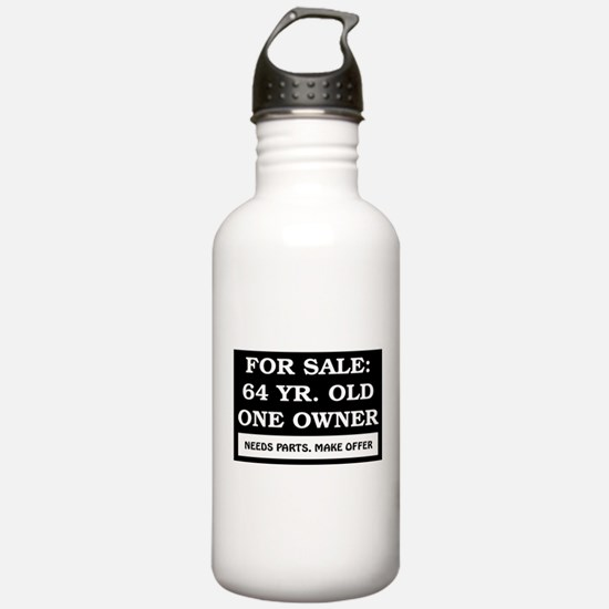 For Sale 64 Year Old Water Bottle