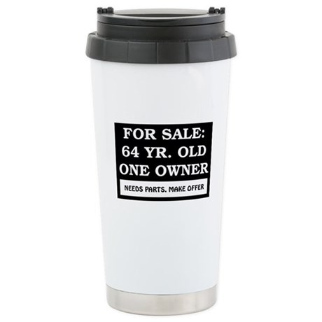 For Sale 64 Year Old Stainless Steel Travel Mug
