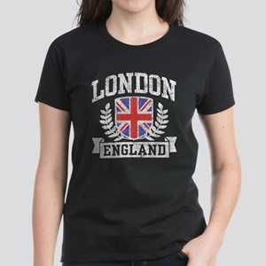 London England Women's Dark T-Shirt