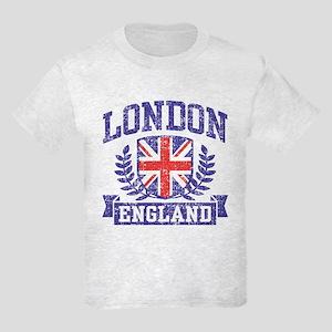 London England Kids Light T-Shirt