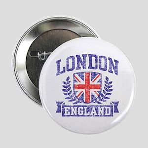 """London England 2.25"""" Button"""