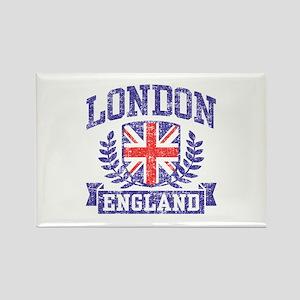 London England Rectangle Magnet