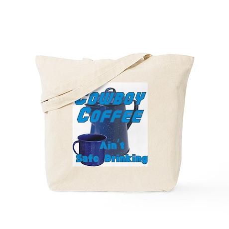 Cowboy Coffee Tote Bag