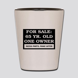 For Sale 65 Year Old Shot Glass