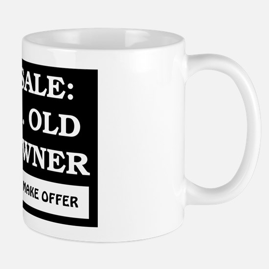 For Sale 65 Year Old Mug