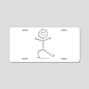 Acupuncture Sticky Aluminum License Plate
