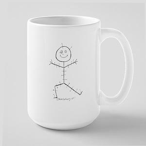 Acupuncture Sticky Large Mug