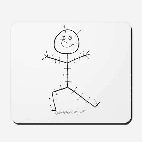 Acupuncture Sticky Mousepad