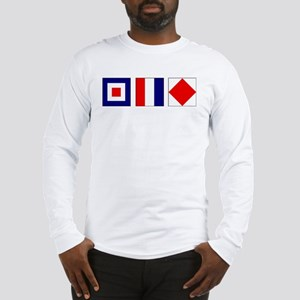WTF Nautical Signal Flags Long Sleeve T-Shirt