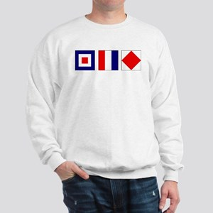WTF Nautical Signal Flags Sweatshirt