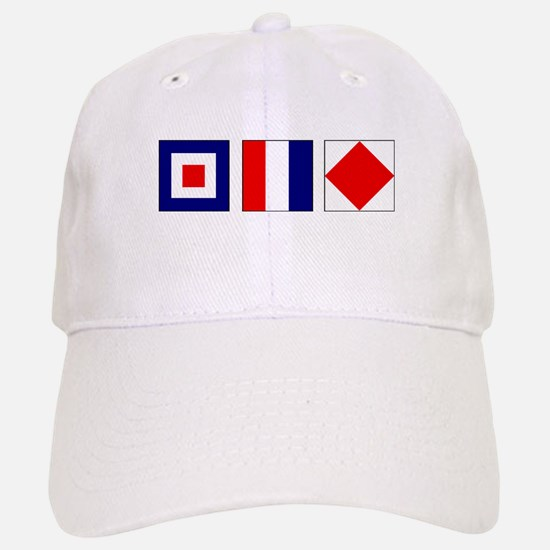 WTF Nautical Signal Flags Baseball Baseball Cap