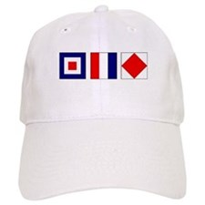 WTF Nautical Signal Flags Cap