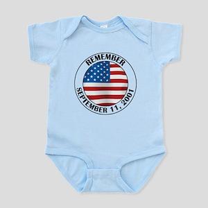 Remember 9-11 Infant Bodysuit