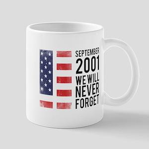 9 11 Remembering Mug