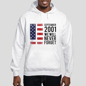 9 11 Remembering Hooded Sweatshirt