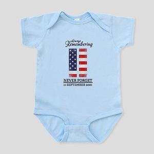 9 11 Remembering Infant Bodysuit