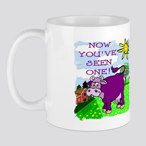 Purple Cow / Farm Mug