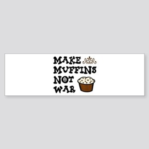 'Make Muffins' Sticker (Bumper)