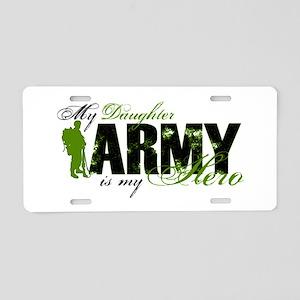 Daughter Hero3 - ARMY Aluminum License Plate