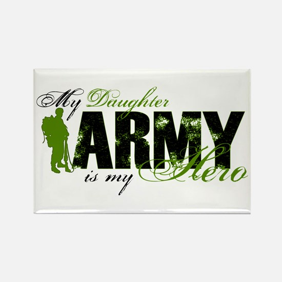 Daughter Hero3 - ARMY Rectangle Magnet