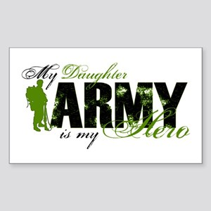 Daughter Hero3 - ARMY Sticker (Rectangle)