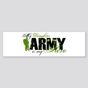 Daughter Hero3 - ARMY Sticker (Bumper)