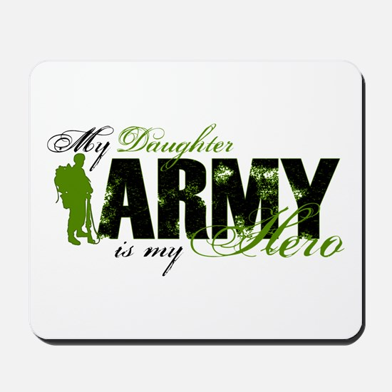 Daughter Hero3 - ARMY Mousepad