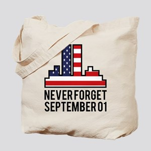 9 11 Never Forget Tote Bag
