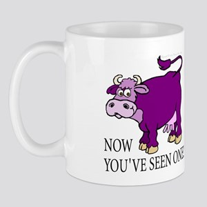 Purple Cow Mug