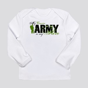 Cousin Hero3 - ARMY Long Sleeve Infant T-Shirt