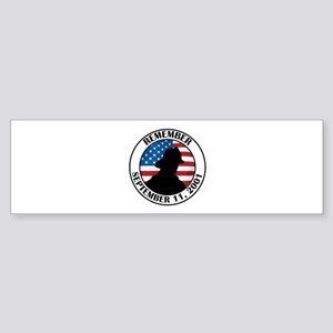 Remember 9 11 Sticker (Bumper)