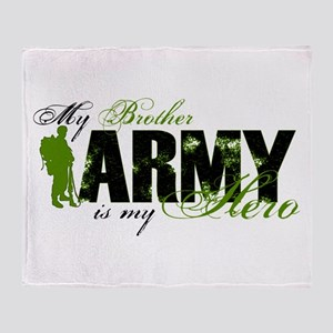 Brother Hero3 - ARMY Throw Blanket