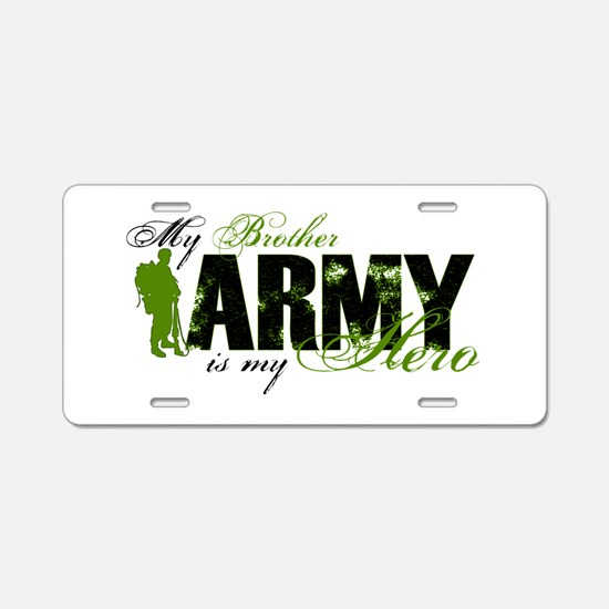 Brother Hero3 - ARMY Aluminum License Plate
