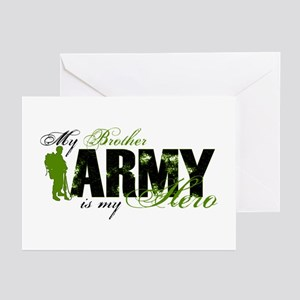 Brother Hero3 - ARMY Greeting Cards (Pk of 10)