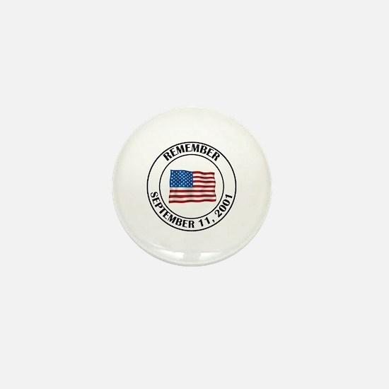9 11 Mini Button